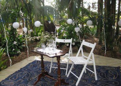 Weddings Jungle venue hire