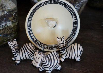 Kisii Stoneware zebras