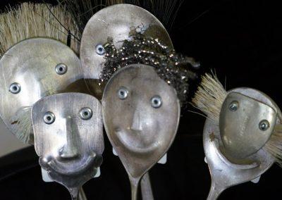 Silver folk handmade