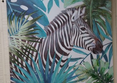 Zebra painting JIW