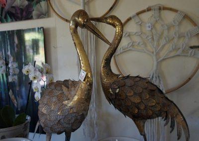 Gold cranes