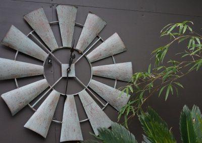 Windmill clock JIW